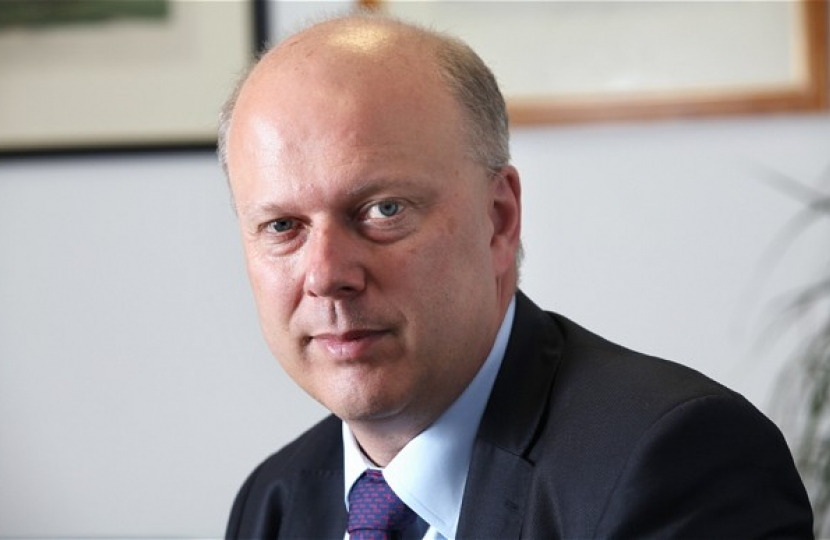 Chris Grayling portrait