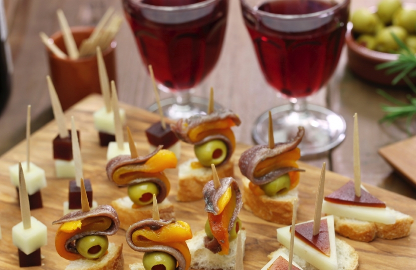 Drinks and Canapes