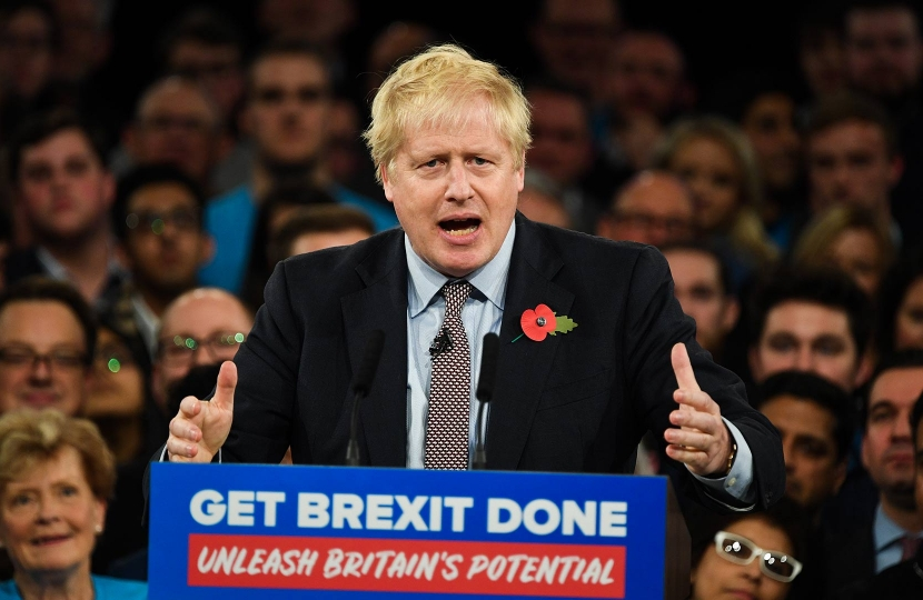 Boris launches campaign pledging to unleash Britain's potential